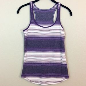 Lululemon Womens Athletic Striped Tank